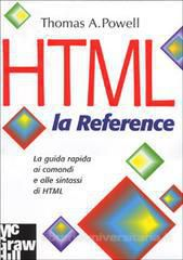 HTML - la Reference ISBN 88-386-4197-8